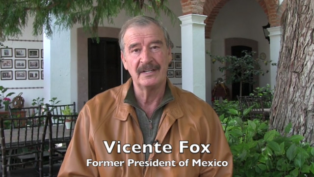 Former President Fox of Mexico and H2Opendoors