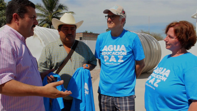 AT&T sponsors two installations in Mexico